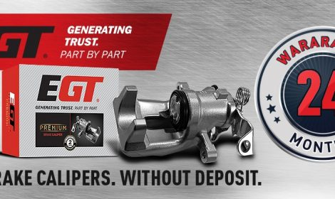 NEW TO OUR RANGE – EGT BRAKE CALIPERS. 24 MONTHS WARRANTY COVERED