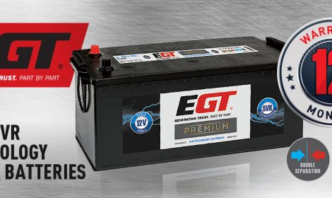 New SVR Technology Truck batteries